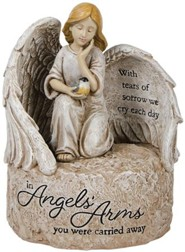 Angel's Arms, LED Memorial Stone