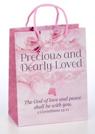 Precious and Dearly Loved Gift Bag, Medium