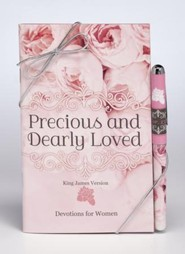 Precious and Dearly Loved Devotion Book & Pen Set, KJV