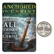 Anchored in Christ Pocket Piece and Card
