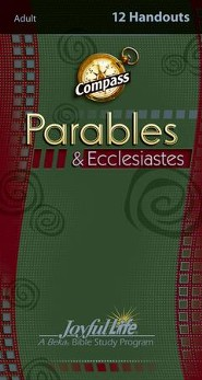 Parables & Ecclesiastes Adult Bible Study Weekly Compass Handouts