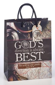 God's Direction is Always Best Gift Bag