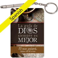 La guia de Dios..., llavero destonillador micro 4-in-1  (God's Direction...., 4-in-1 Micro Screwdriver Keyring)