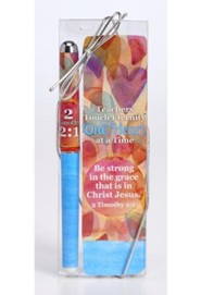 Teachers Touch Eternity Pen & Bookmark Gift Set