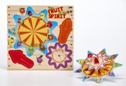 The Fruit of the Spirit Spinning Top Game & Puzzle Sheet