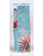 Be Still and Know Pen & Mother Bookmark Gift Set