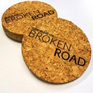 Cork Coasters, Set of 4, GBTBR