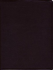 Bonded Leather Burgundy Hebrew(Ancient)
