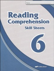 Abeka Reading Comprehension Skill Sheets 6