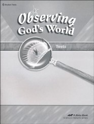 Abeka Observing God's World Tests