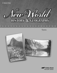 Abeka New World History & Geography Tests