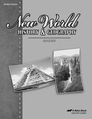 Abeka New World History & Geography Quizzes