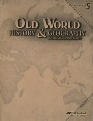 Abeka Old World History & Geography in Christian Perspective Answer Key