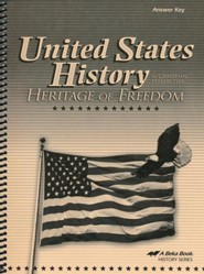 Abeka United States History in Christian Perspective:  Heritage of Freedom Answer Key