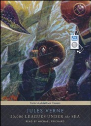 20,000 Leagues Under the Sea, Unabridged Audiobook on MP3 with eBook