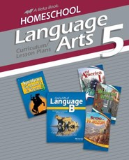Abeka Homeschool Language Arts 5 Curriculum/Lesson Plans