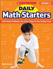 Daily Math Starters: Grade 2: 180 Math Problems for Every Day of the School Year