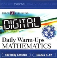 Digital Daily Warm-Ups, Math, Grades 9-12