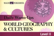 World Geography & Cultures, Level 2: Daily Warm-Ups