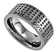 Man of God, Sport Ring Silver, Size 12