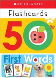 Write and Wipe Flashcards: First 50 Words