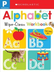 Wipe-Clean Workbook: Pre-K Alphabet