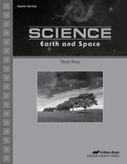 Abeka Science: Earth and Space Tests Key