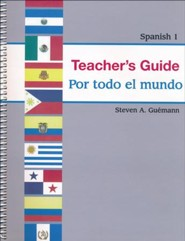 Abeka Por todo el mundo Spanish Year 1 Teacher Guide