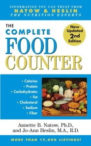 The Most Complete Food Counter: 2nd Edition - eBook  -     By: Annette B. Natow, Jo-Ann Heslin