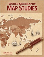 Abeka World Geography Map Studies Book