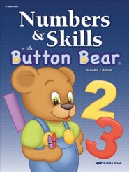 Abeka Numbers and Skills with Button Bear