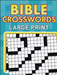 Bible Crosswords--Large Print Edition