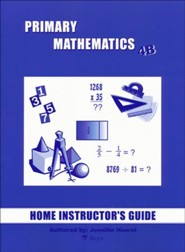 Singapore Math Primary Math Home Instructor's Guide 4B