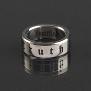 Truth / Justified Ring, Size 9