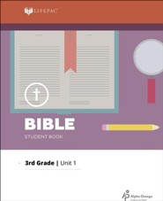 Lifepac Bible Grade 3 Unit 1: Living For God