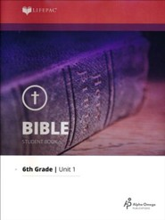Lifepac Bible Grade 6 Unit 1: From Creation To Moses