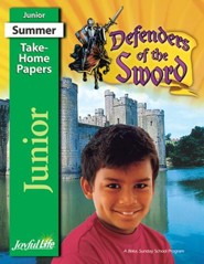 Defenders of the Sword Junior (Grades 5-6) Take-Home Papers