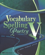 Abeka Spelling, Vocabulary, & Poetry Gr 11