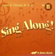 Abeka Sing Along! Volume 2 Audio CD