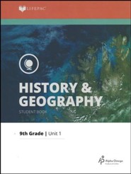 Lifepac History & Geography Grade 9 Unit 1: The Heritage of the  United States