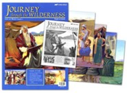Abeka Bible Ventures Middler (grades 3-4) Journey through  the Wilderness Flash-a-Card Set (Spring Quarter)