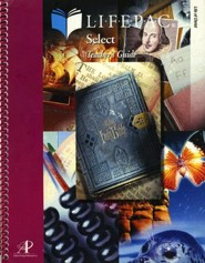 Lifepac Select Life of Christ Teacher's Guide