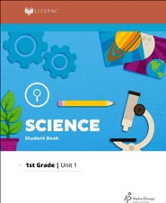Lifepac Science Grade 1 Unit 1: You Learn With Your Eyes