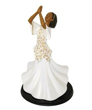Praise Dancer Shadiya Figurine, Large