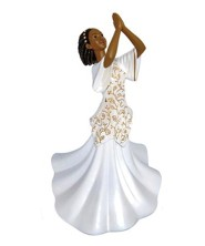 Praise Dancer Shadiya Figurine, Small