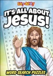 It's All About Jesus itty-bitty Bible Activity Book