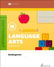 Lifepac Language Arts, Kindergarten, Student Book 1