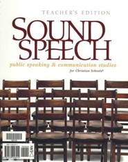 BJU Sound Speech: Public Speaking & Communication Studies, Teacher's Edition