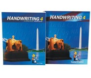 BJU Handwriting Grade 4, Homeschool Kit (Second Edition)