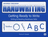 Original Handwriting: Getting Ready to Write (Book A, Grades PreK-K)